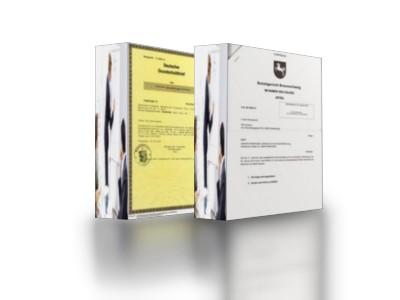 Schuldtitel mit Grundschulden als Kombi von ca. EUR 50.000 bis ca. EUR 5 Mio.